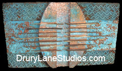 Copper Wall Piece