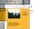 Diablo Contractors Inc. Website